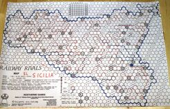 Railway Rivals Map SL: Sicilia
