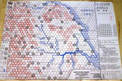 Railway Rivals Map YK: Yorkshire