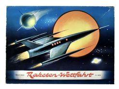 Raketen-Wettfahrt