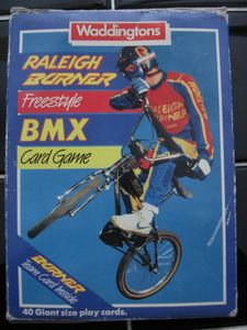 Raleigh Burner Freestyle BMX Card Game