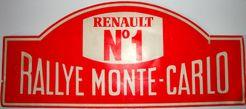 Rallye Monte Carlo: Renault N°1