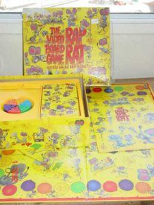 Rap Rat Video Board Game