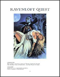Ravenloft Quest