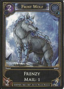 Rawen TCG: Frost Wolf Promo