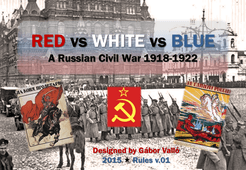 Red vs White vs Blue: A Russian Civil War 1918-1922