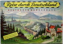 Reise durch Deutschland mit der Deutschen Bundesbahn