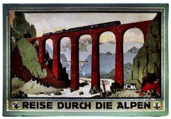 Reise durch die Alpen