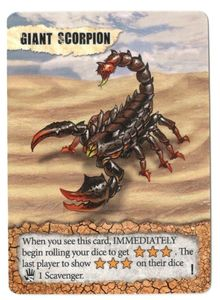 Remnants: Giant Scorpion Promo Card