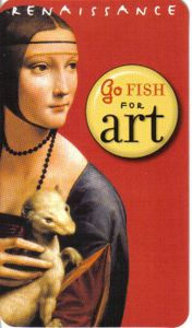 Renaissance Go Fish for Art