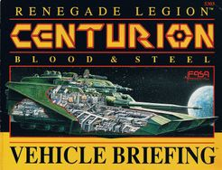 Renegade Legion: Centurion – Blood & Steel: Vehicle Briefing