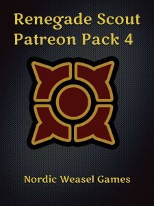 Renegade Scout: Patreon Pack 4