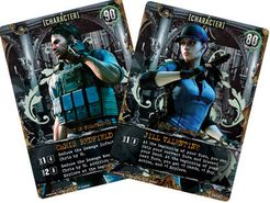 Resident Evil Deck Building Game: Chris Redfield & Jill Valentine Promo