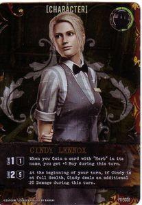Resident Evil Deck Building Game: Cindy Lennox Promo
