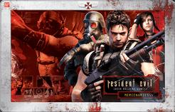 Resident Evil Deck Building Game: Mercenaries