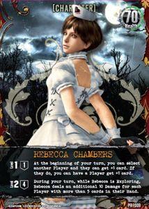 Resident Evil Deck Building Game: Nurse Rebecca Promo