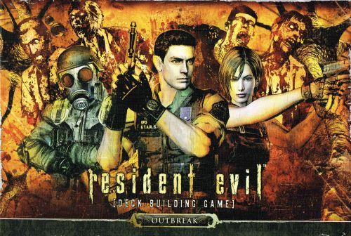 Resident Evil Deck Building Game: Outbreak