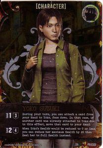 Resident Evil Deck Building Game: Yoko Susuki Promo