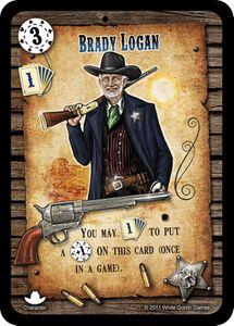 Revolver: Brady Logan Promo Card
