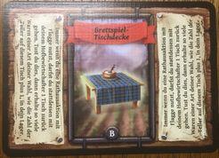 Reykholt: Brettspiel-Tischdecke Promokarte