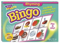 Rhyming Bingo