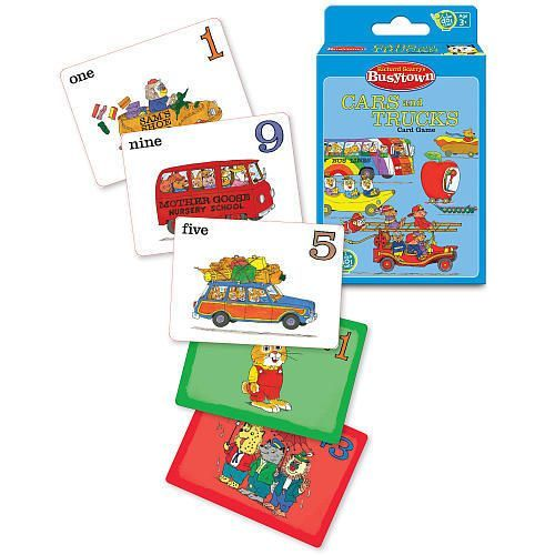 Richard Scarry's Busytown Cars and Trucks Card Game