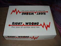 Right Wrong: The Joys of Syntax and Lex