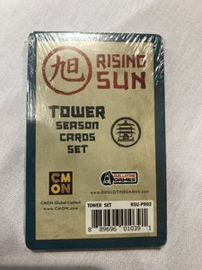 Rising Sun: Tower Season Cards Set