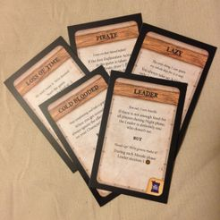Robinson Crusoe: Adventures on the Cursed Island – Trait Cards II