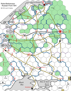 Robot Barbarossa:  Russian Front 1941