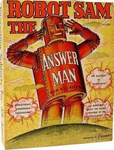 Robot Sam the Answer Man