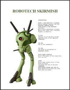 Robotech Skirmish