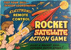 Rocket Satellite Action Game