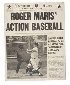 Roger Maris Action Baseball