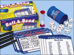 Roll and Read Word Family Game