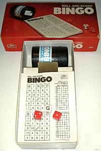 Roll and Score Bingo