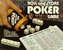 Roll and Score Poker Game