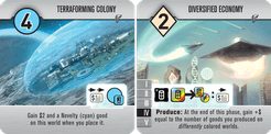Roll for the Galaxy: Terraforming Colony/Diversified Economy Promo Tile