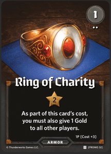 Roll Player: Ring of Charity Promo Card