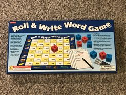 Roll & Write Word Game
