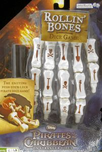Rollin' Bones: Pirates of the Caribbean (On Stranger Tides) Dice Game