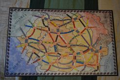 România (fan expansion for Ticket to Ride: Europe)
