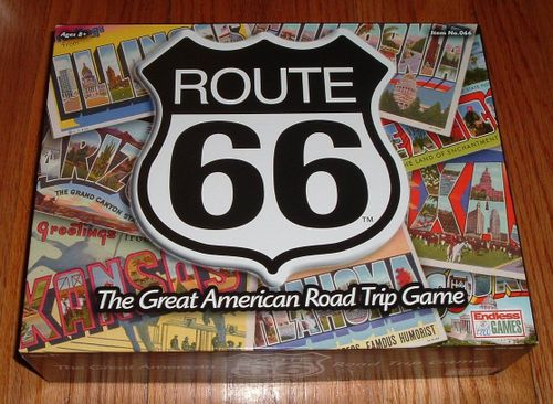 Route 66: The Great American Road Trip Game