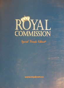 Royal Commission: Special Friends Edition