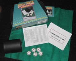Royal Poker Dice Game