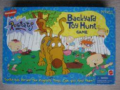 Rugrats Backyard Toy Hunt Game