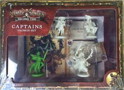 Rum & Bones: Second Tide – Captains Promos Set