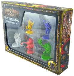 Rum & Bones: Second Tide – Iron Inquisition Heroes Set #1