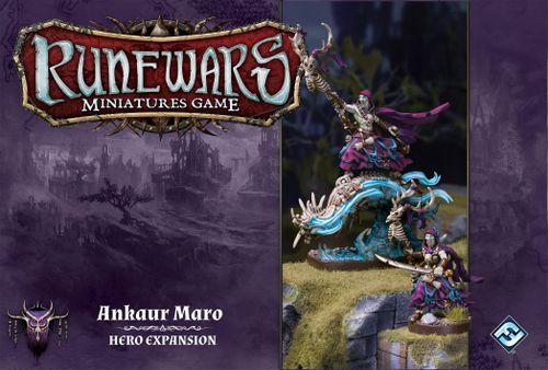 Runewars Miniatures Game: Ankaur Maro – Hero Expansion