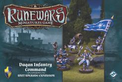 Runewars Miniatures Game: Daqan Infantry Command – Unit Upgrade Expansion