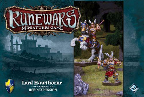 Runewars Miniatures Game: Lord Hawthorne – Hero Expansion